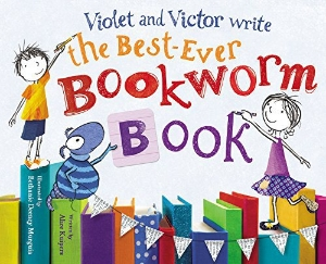 violet and victor write the best-ever bookworm book new 2015 picture books kids book long enough