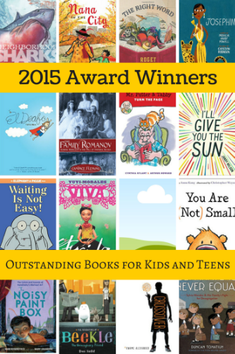 2015 award winners children teens book long enough
