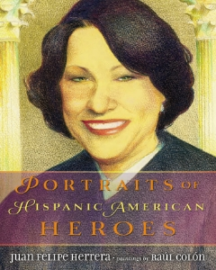 portraits of hispanic american heroes 2015 award winners kids book long enough