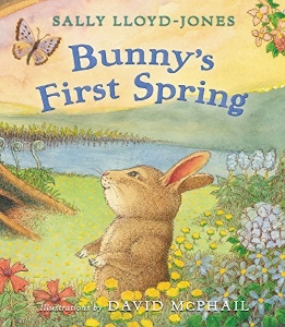 bunny's first spring kids picture books new spring bunnies easter eggs chicks ducklings a book long enough