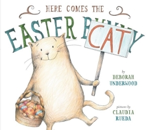 here comes the easter cat kids picture books new spring bunnies easter eggs chicks ducklings a book long enough