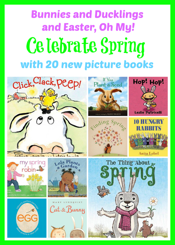 kids picture books new spring bunnies easter eggs chicks ducklings a book long enough