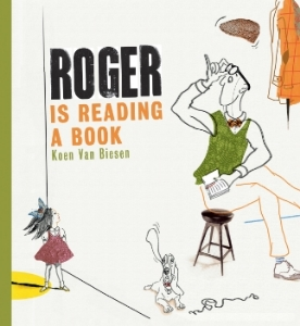 roger is reading a book a book long enough