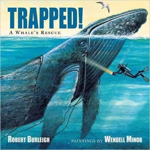 trapped a whale's rescue a book long enough