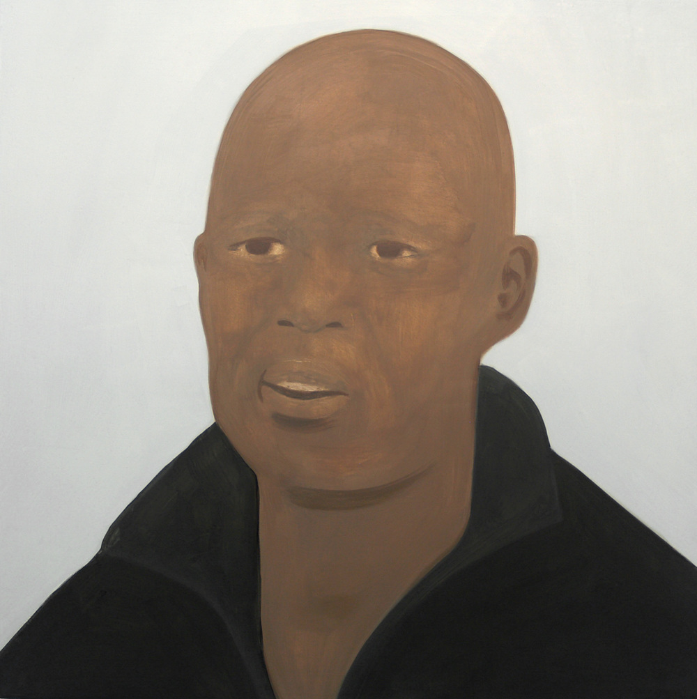 Sibolile,  Oil on canvas, 50 x 50 cm, 2013