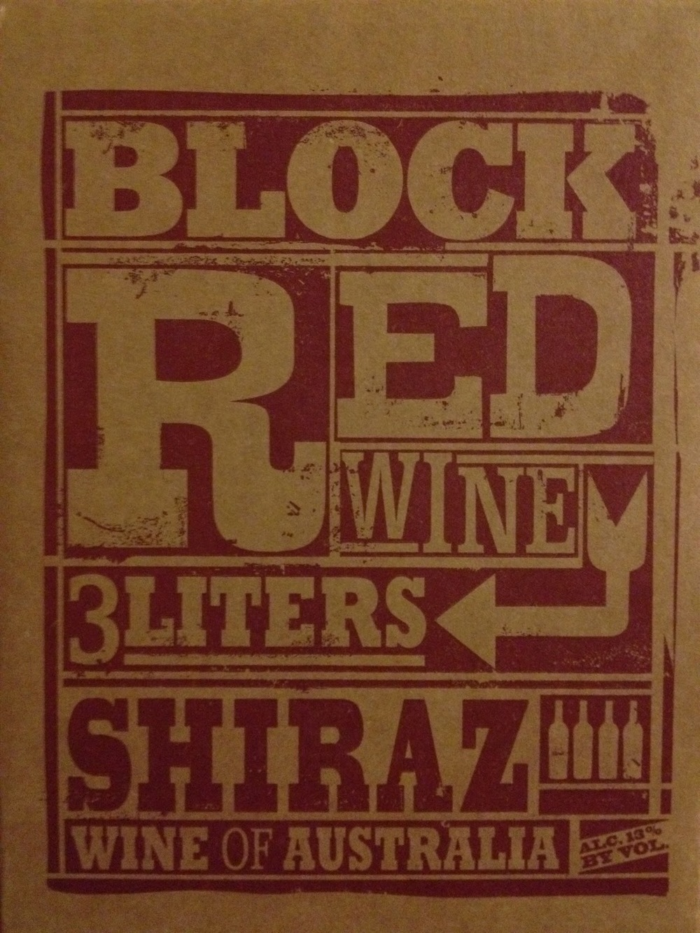 Trader Joes Block Red Shiraz photo.JPG