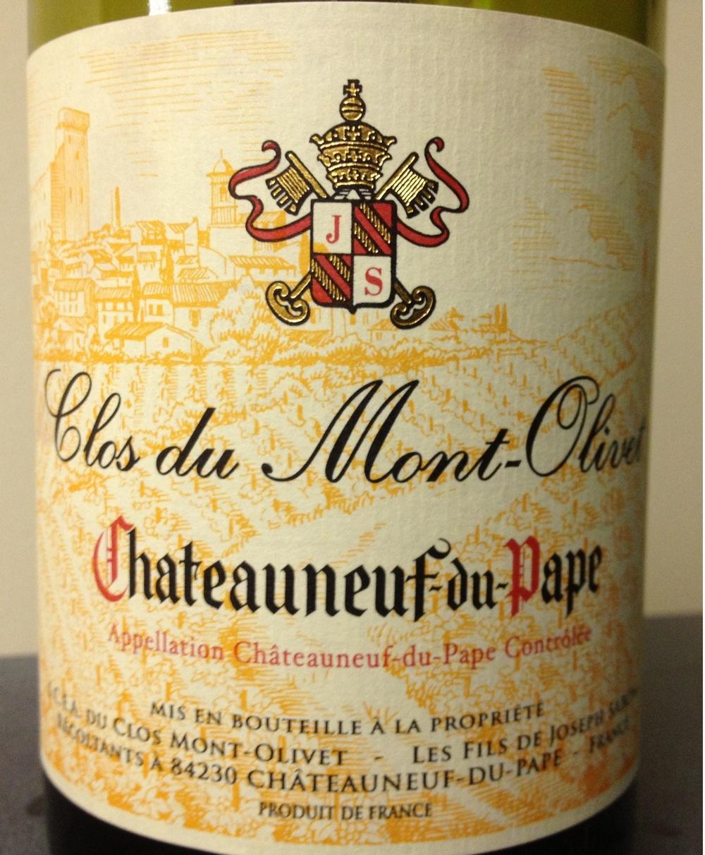 Clos du Mont Olivet Chateauneuf-du-Pape