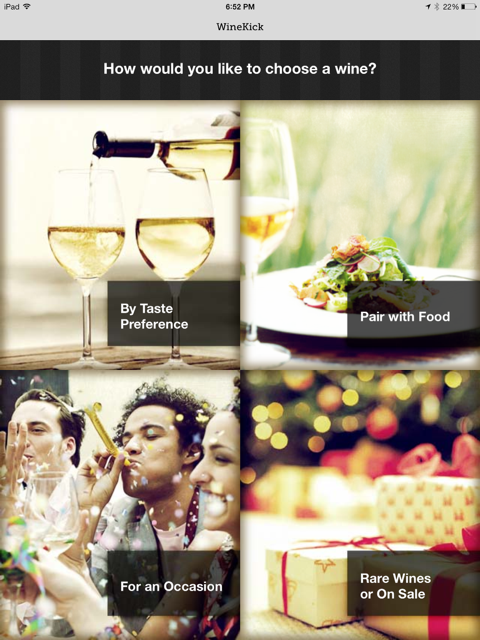 wine app for retail liquor stores