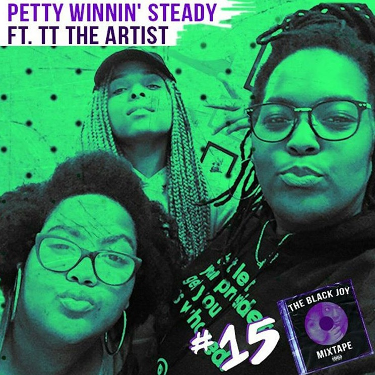 TT The Artist joins Amber (aka the High Priestess of Black Joy) and Jazmine (bka King of da South) two petty AF Black feminists who are determined to get on WorldStarHipHop one way or the other for episode 15 of The Black Joy Mixtape podcast. Each week they overcome fuckboys, Becky, hoteps, and dry skin to spit hot fire on pop culture, politics and worship anything Black women have going on. Stream ep 15 Petty and Winnin below