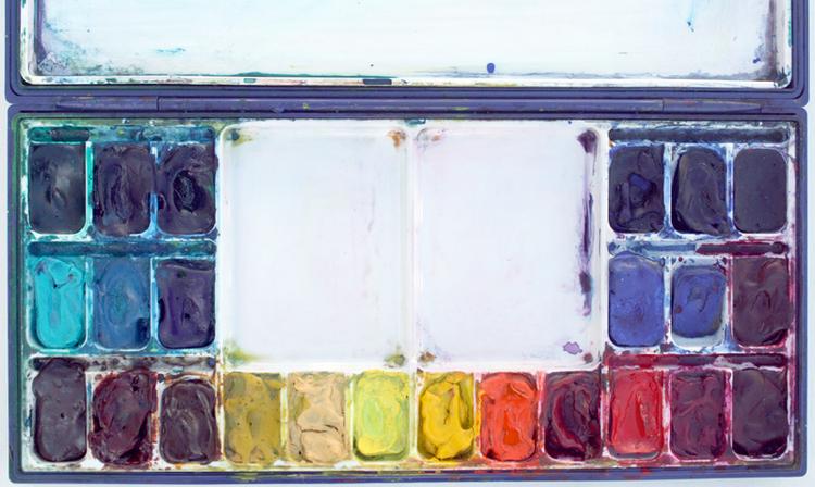 Homee watercolor palette