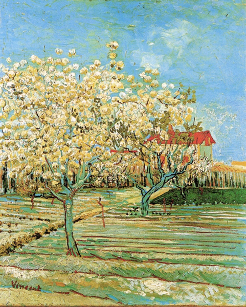 """Van Gogh"", Orchard in Blossom"", 1888"