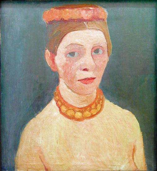 "Paula Modersohn-Becker, ""Self Portrait"""