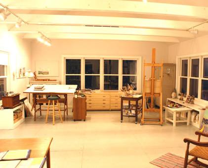 My Vermont studio