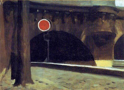 """Edward Hopper, """"Bridge in Paris"""""""
