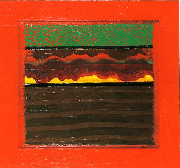 """Howard Hodgkin, """"Bombay Sunset"""""""
