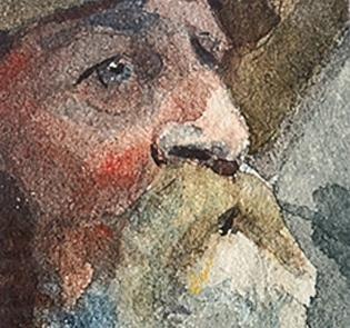 Detail, Winslow Homer