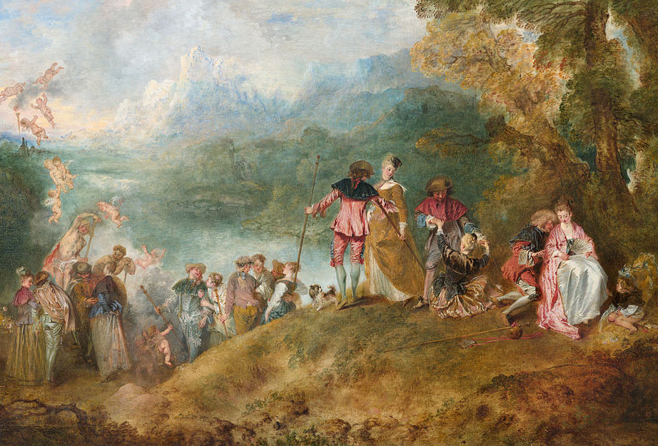 The Embarkation for Cythera, Jean-Antoine Watteau