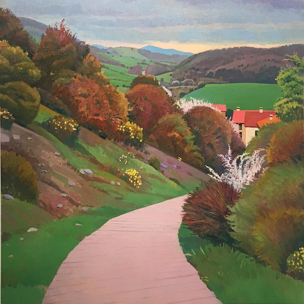 Camino, Near Ebro, Susan Abbott