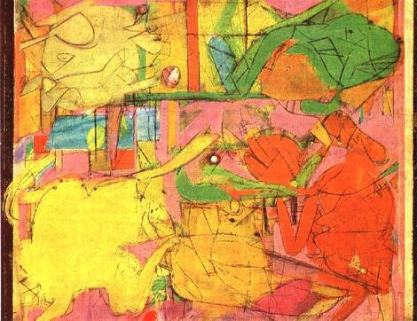 Study, Willem de Kooning