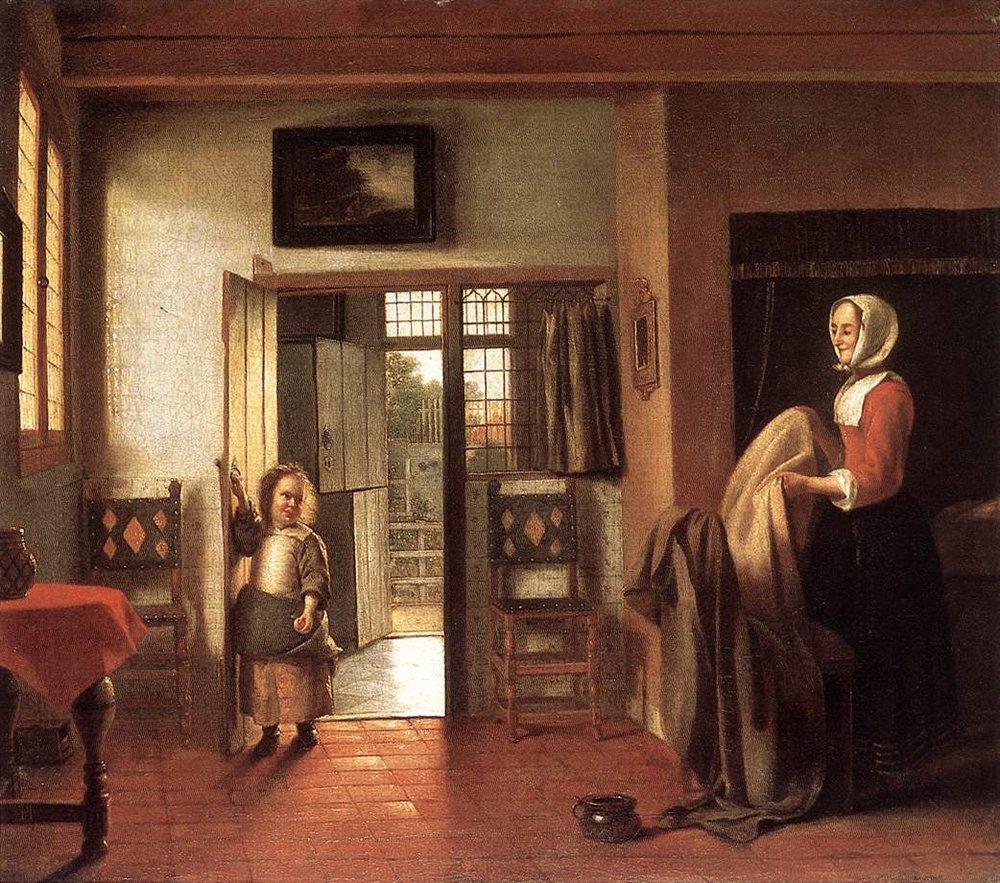 The Bedroom , Peter de Hooch