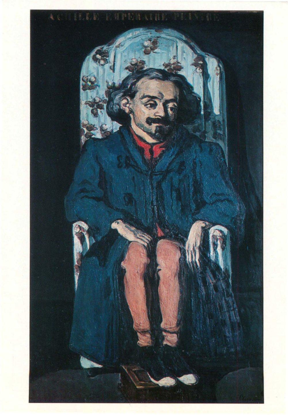 Cezanne's friend Achille Emperaire.