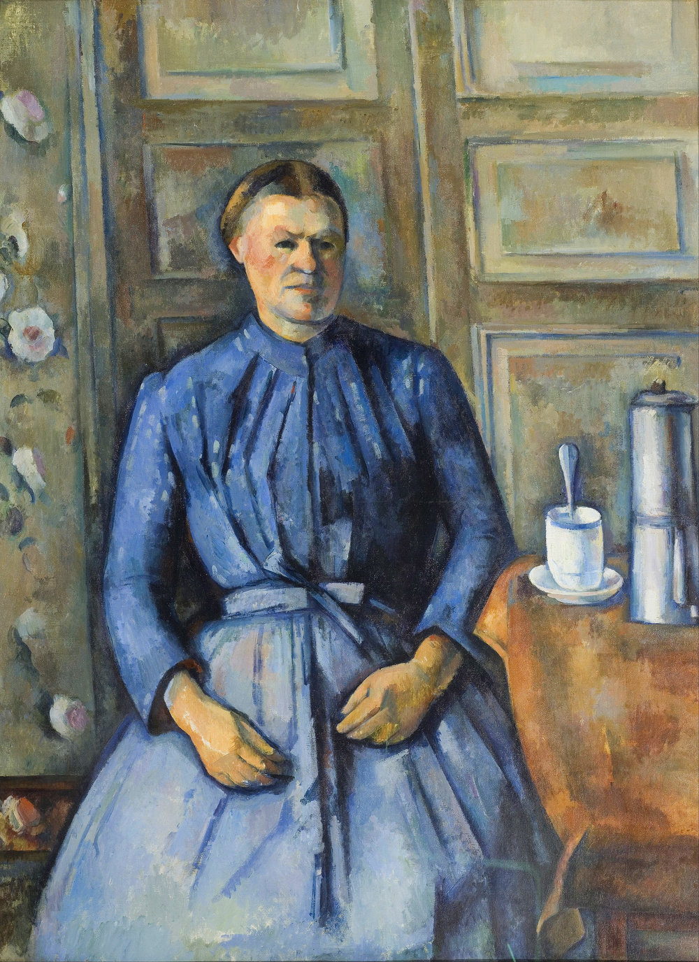 """Woman with a Coffee Pot"""