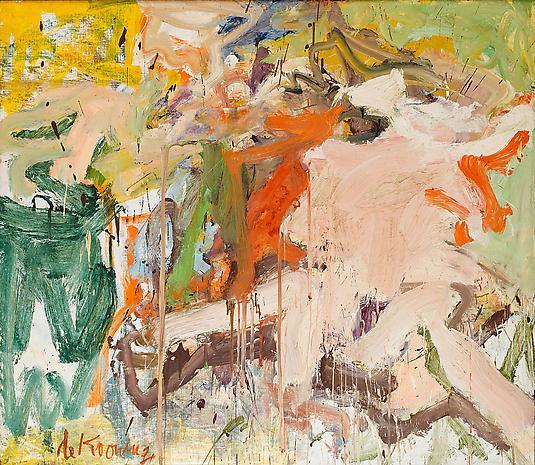 """Willem de Kooning, """"Two Figures in a Landscape, 1967"""
