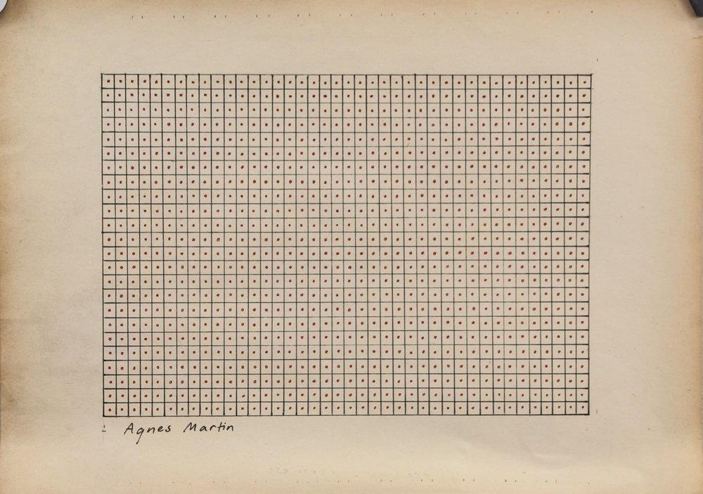 "Agnes Martin, ""Grid"""