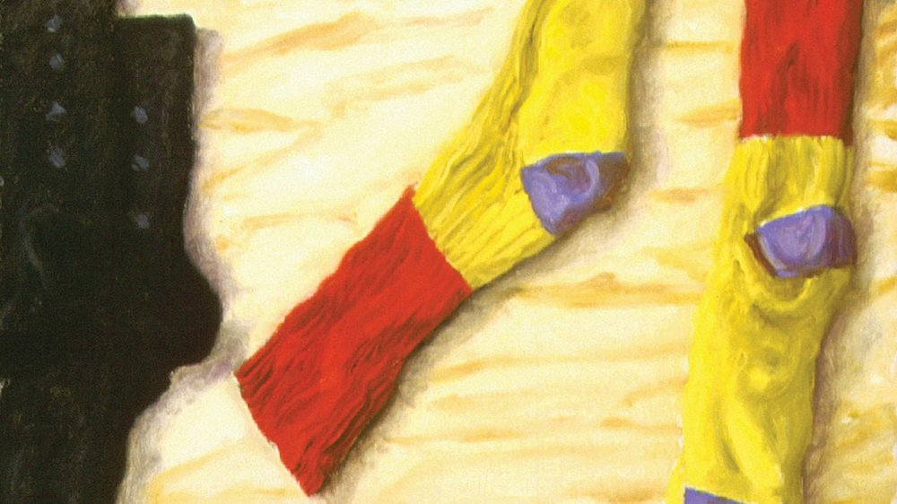 """Avigdor Arikha, """"Socks"""""""