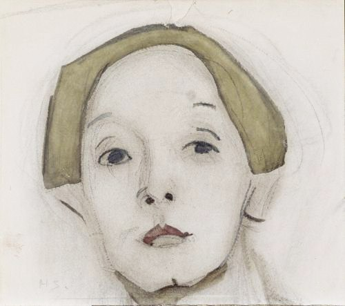 "Helene_Schjerfbeck, ""Self Portrait"""
