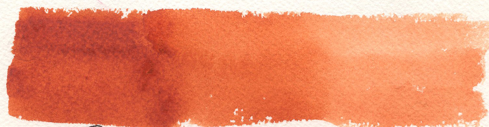 Daniel Smith Quinacridone Sienna watercolor
