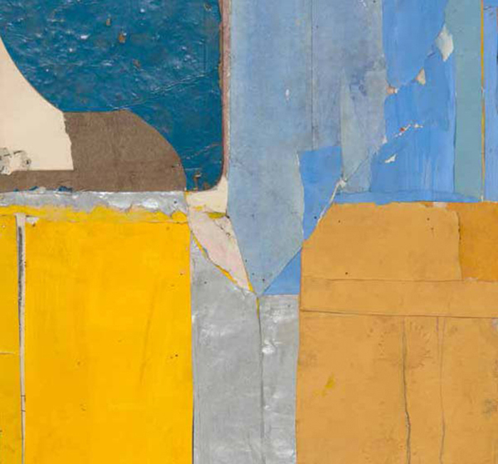 """Richard Diebenkorn, """"Study"""", Collage"""