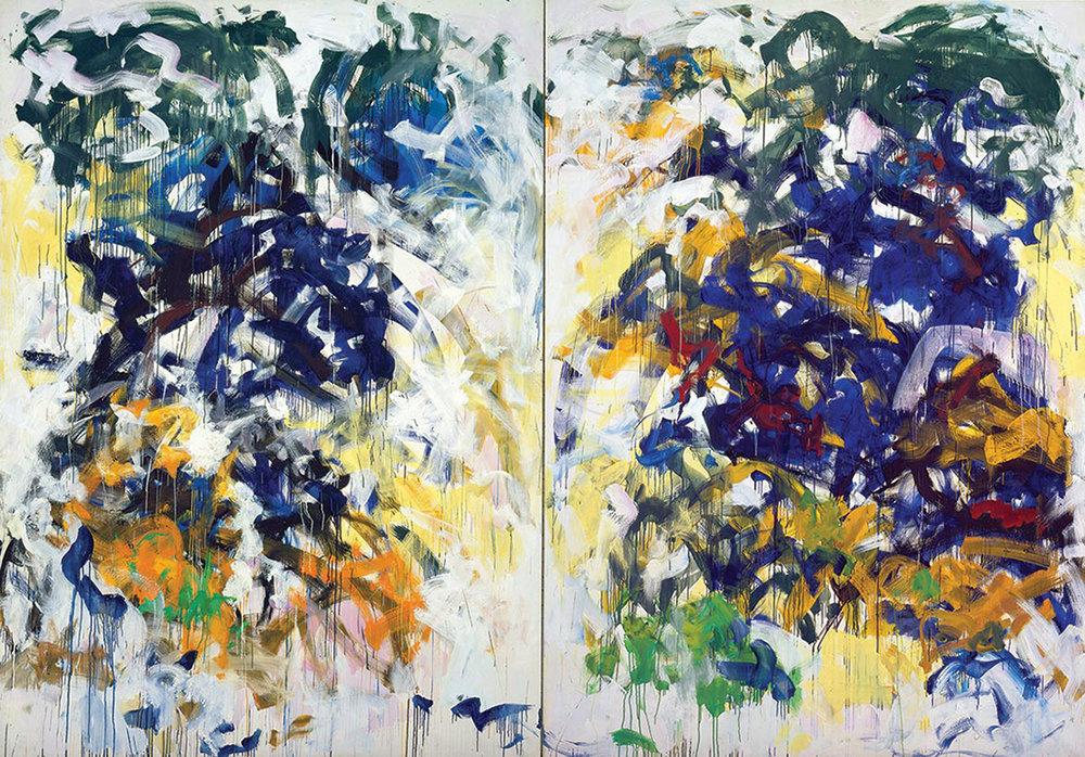 """Joan Mitchell, """"Beauvais"""". oil on canvas"""