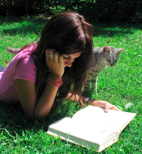 Books and animals are often a gifted adult's best friends.