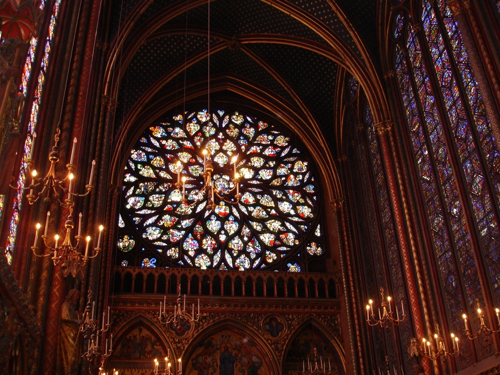Once the gifted know who they are and who they are not, they gain strength, confidence, and resilience. From then on it's a matter of building skills—of getting smart about being smart. Once equipped, they find that the world in which they must make their way is far more manageable. Mary-Elaine Jacobsen    Sainte Chapelle Cathedral's Rose Window. Paris France Photo: Nicole Meldahl
