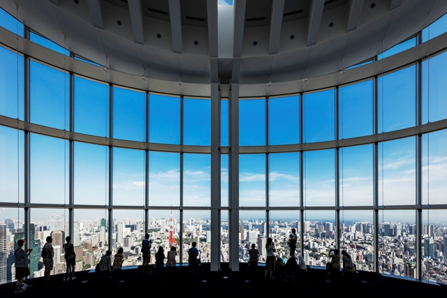Breaktaking views from Roppongi Hills Sky Gallery