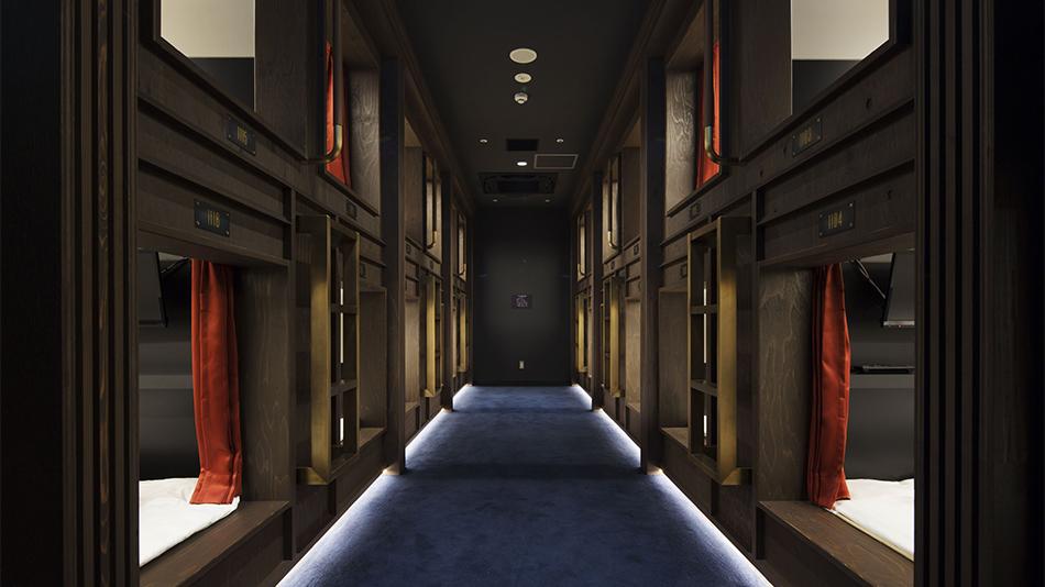 Prime Pod capsule room