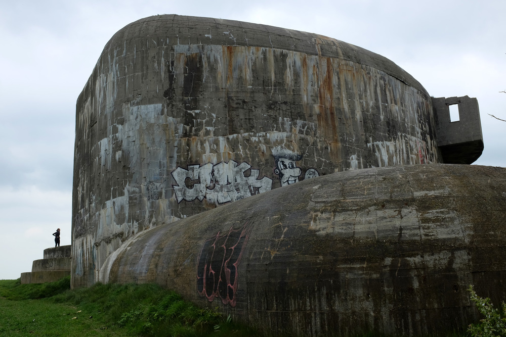 Huge costal gun remains at Cap Gris Nez