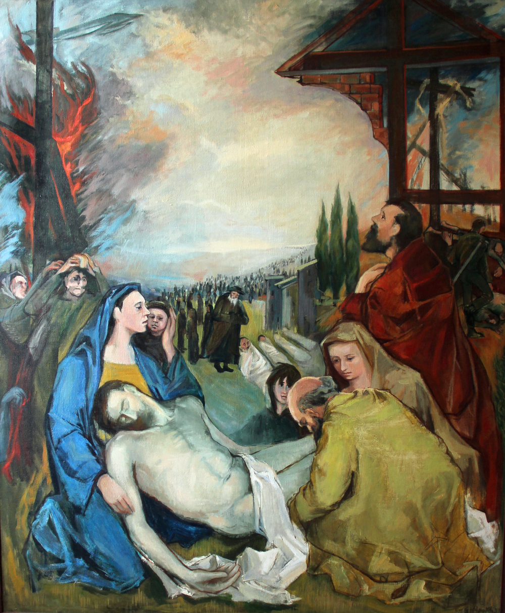 Crucifixions with Pieta