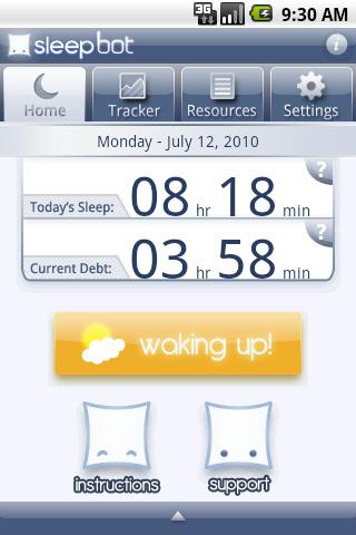 SleepBot 1.0 2010