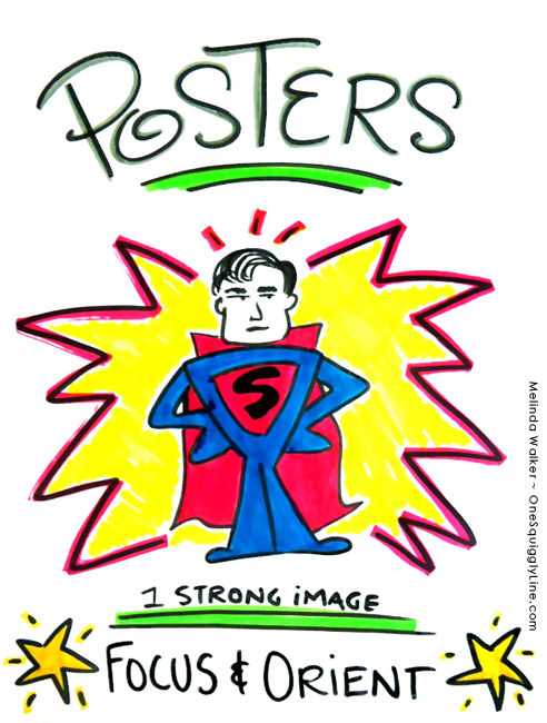 VisualThinking_GraphicRecording_Events_Posters_MelindaWalker_OneSquigglyLine