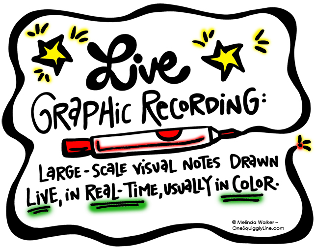 Visual Thinking_GraphicREcording_Live_Definition_MelindaWalker_OneSquigglyLine