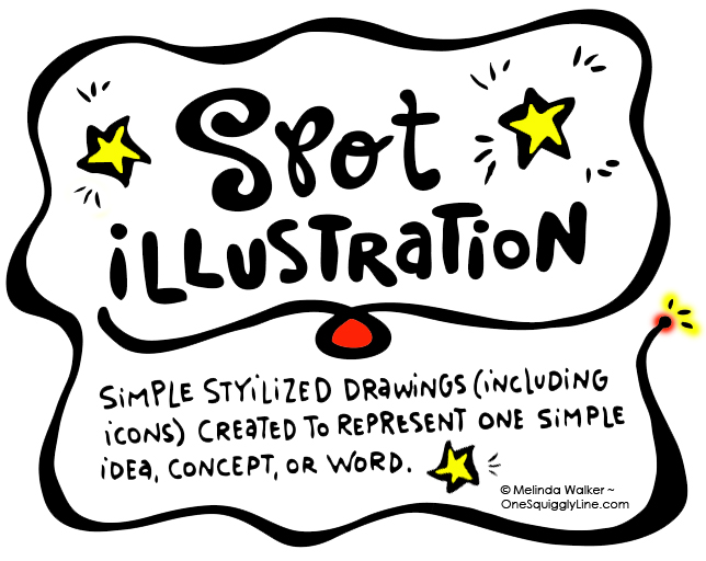 VisualThinking_SpotIllustration_Definition_MelindaWalker_OneSquigglyLine