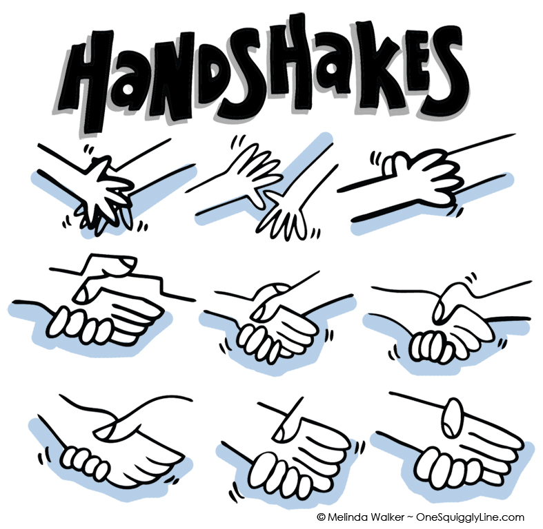 VisualThinking_Drawing_Nine_Handshakes_MelindaWalker_OneSquigglyLine