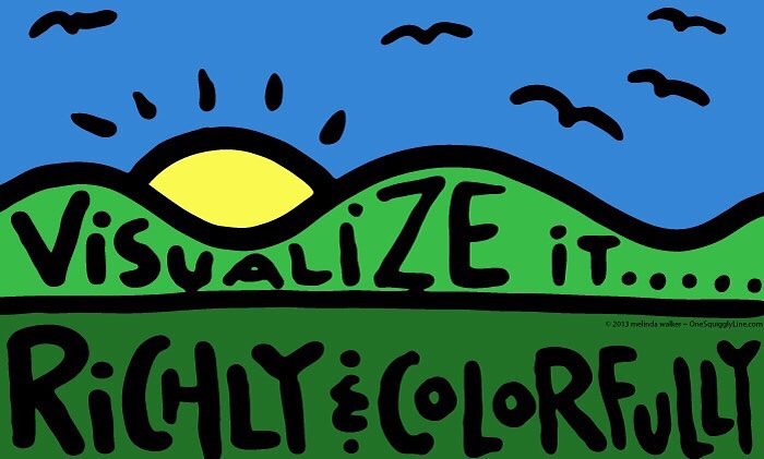 VisualThinking_VisualizeRichlyColorfully_OneSquigglyLine