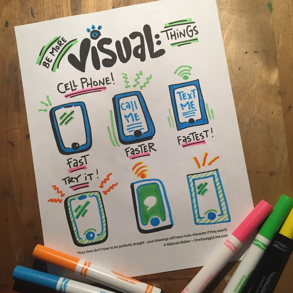 Be More Visual: Cell Phones