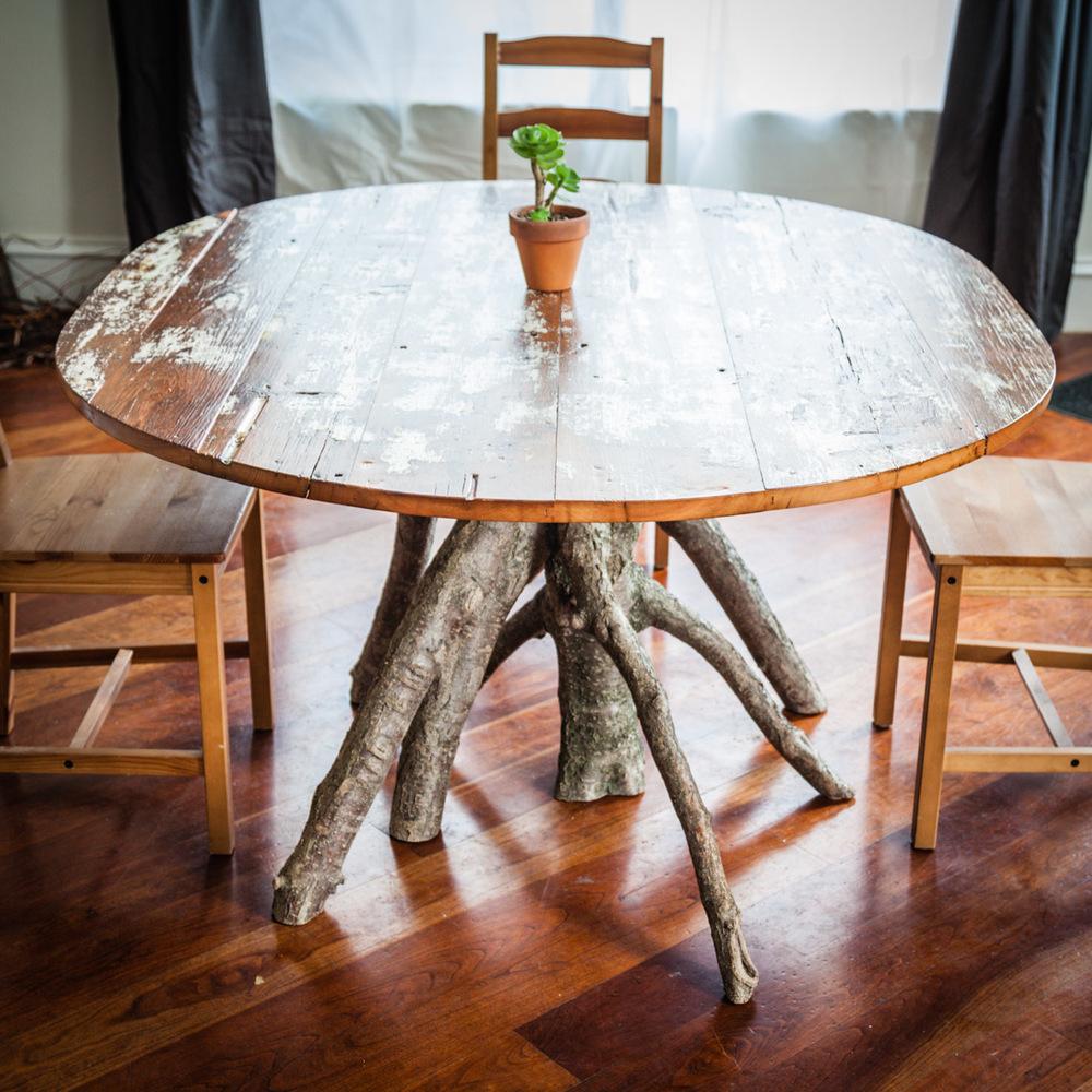 Inverted Tree Table