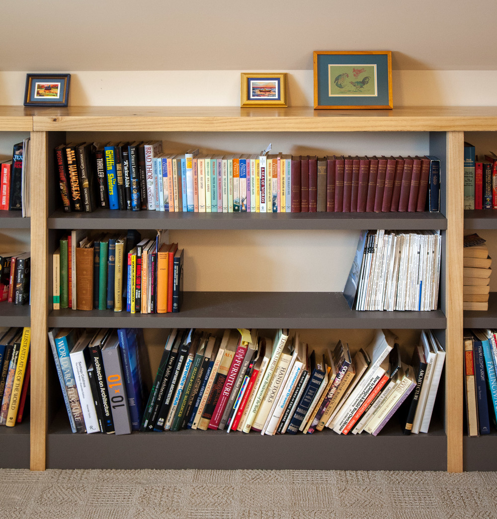 Custom paulownia bookcase by valebruck.com