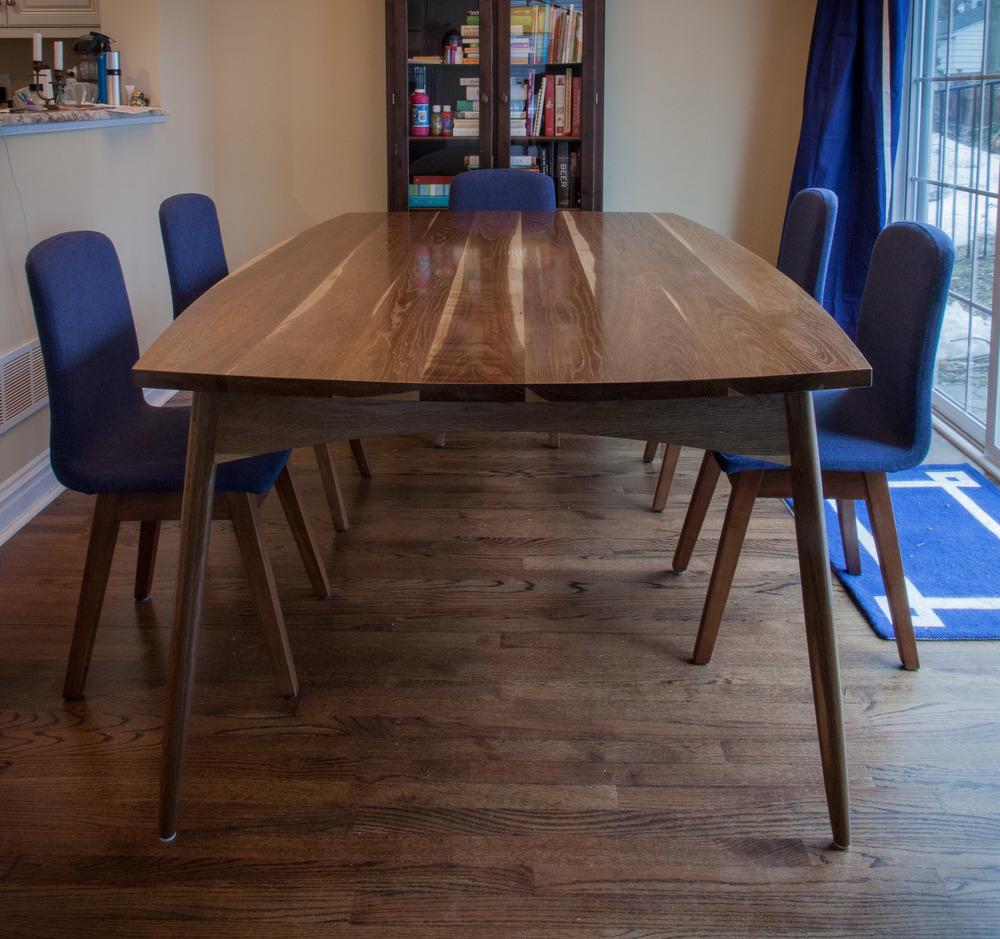Mid Century Modern Kitchen Table Vale Lorin Bruck Design