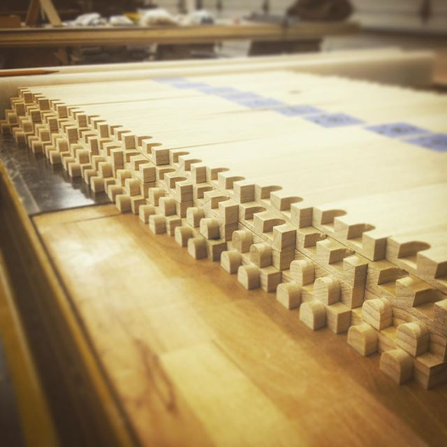 So many drawers... I think we use the phrase #custommade far too often. #Tediouslymade would I think be an apt descriptor.